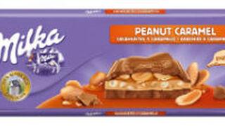 Nueva tableta a lo grande de Milka con cacahuetes y caramelo