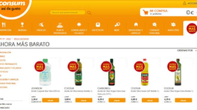 Consum estrena su tienda online y renueva su web corporativa