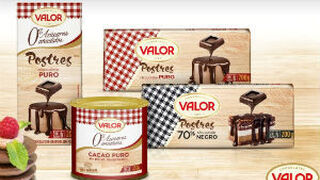 Chocolates Valor renueva el packaging de su gama Postres