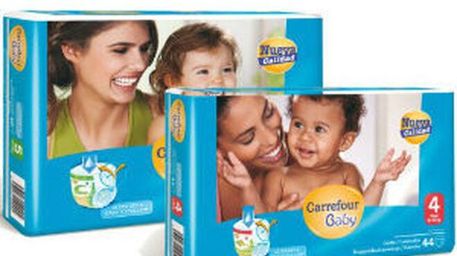 Carrefour mejora sus braguitas de aprendizaje para bebés