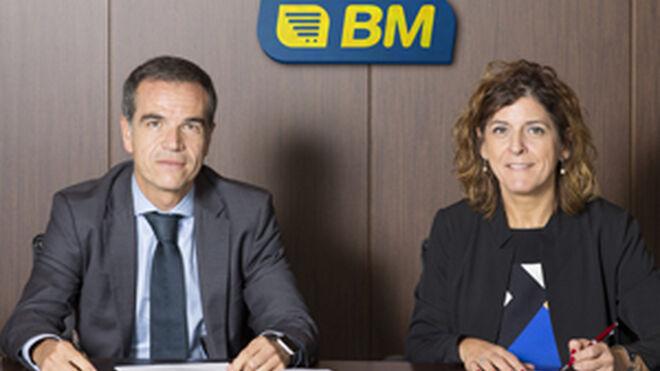 BM pacta con Caja Rural de Navarra y CaixaBank para abrir franquicias