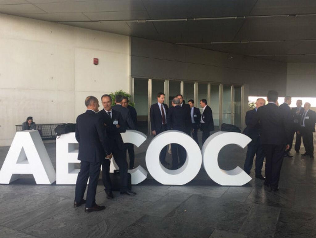 Entrada al Congreso Aecoc 2016 en el Fibes de Sevilla