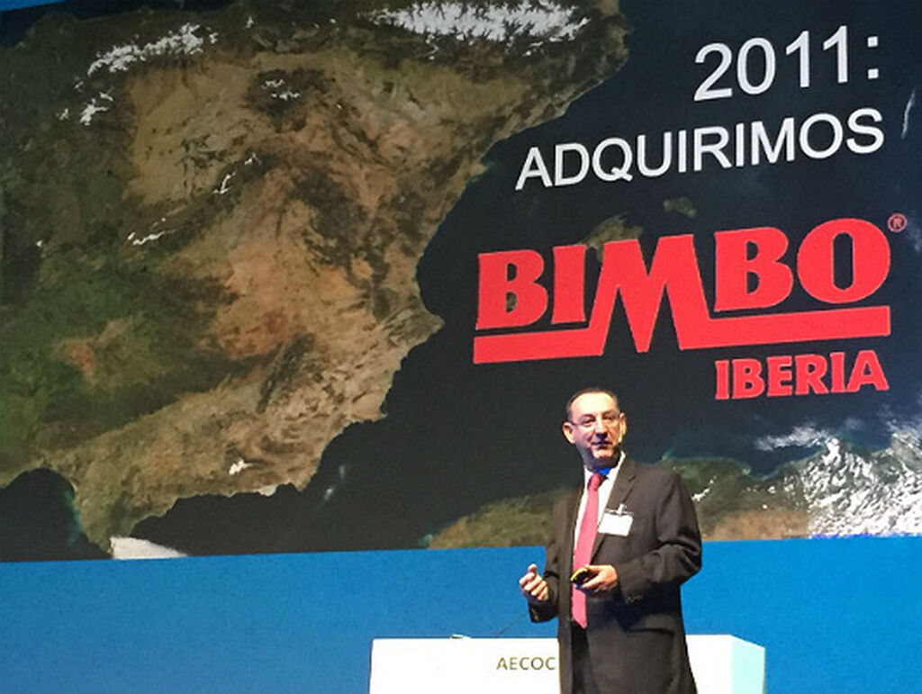 Pablo Elizondo (Grupo Bimbo), durante su ponencia