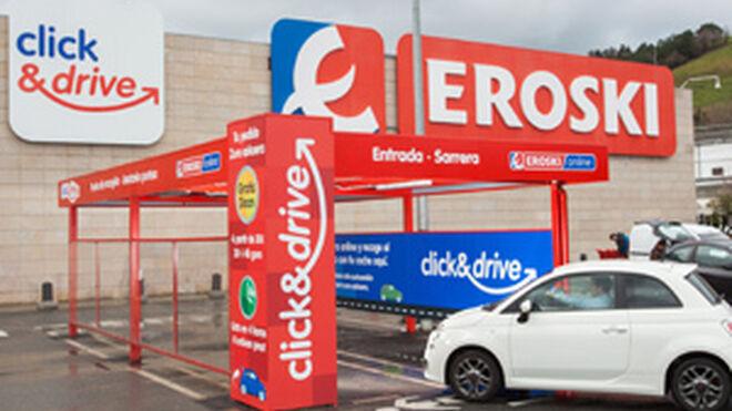 Eroski ya tiene 30 puntos de recogida para compras online