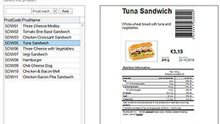 Una solución para cumplir con la ley sobre etiquetado de alimentos