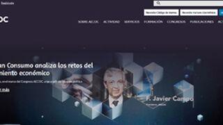 Aecoc renueva su página web y le da un toque más moderno