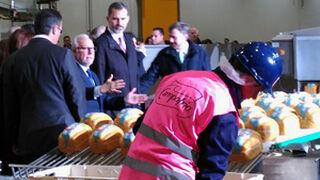La visita del Rey Felipe VI a la nueva planta de Campofrío, en imágenes