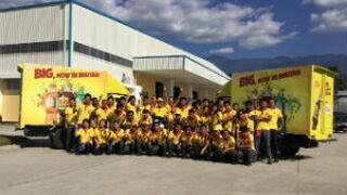 Grupo AJE aterriza en Bután de la mano de BIG y Cifrut
