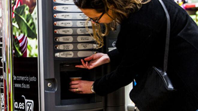 Grupo Dia instala máquinas de café de comercio justo en sus tiendas