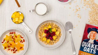 Quaker anima a consumir más avena en los desayunos