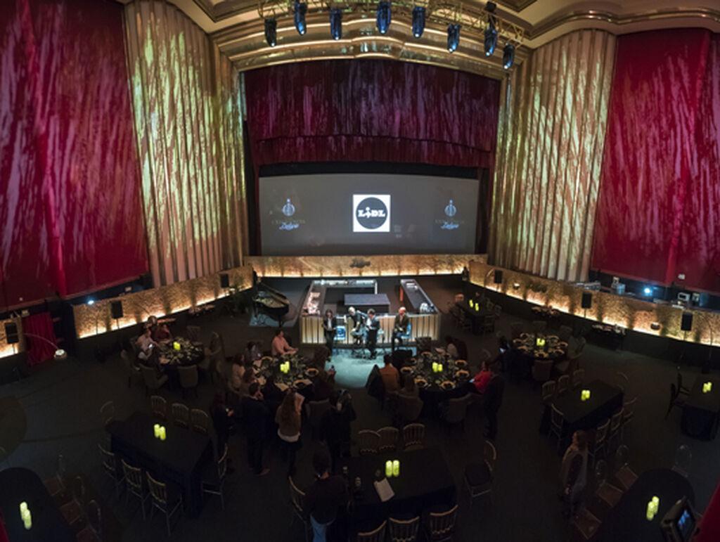 El Cine Capitol de Madrid acoge el primer restaurante pop-up de Lidl en España