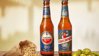 Amstel y Cruzcampo entran en el 0,0