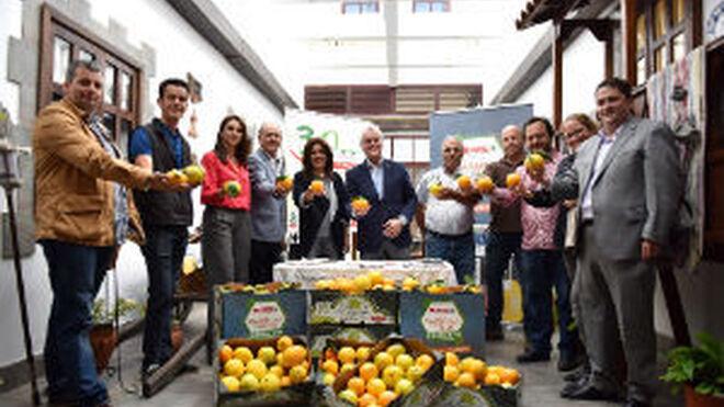 Spar Gran Canaria renueva su compromiso con la naranja de Telde
