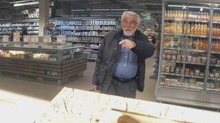 Una sorpresa genial en un supermercado