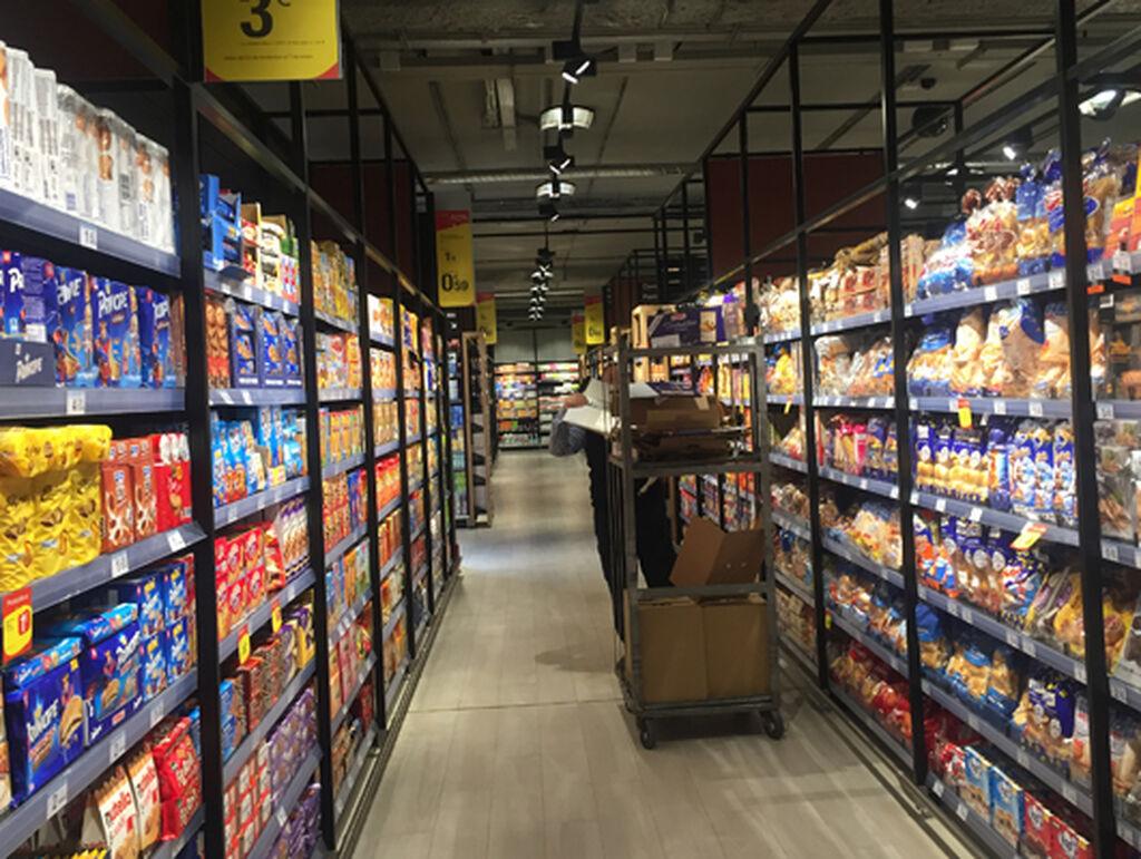 Imagen de la planta baja del supermercado