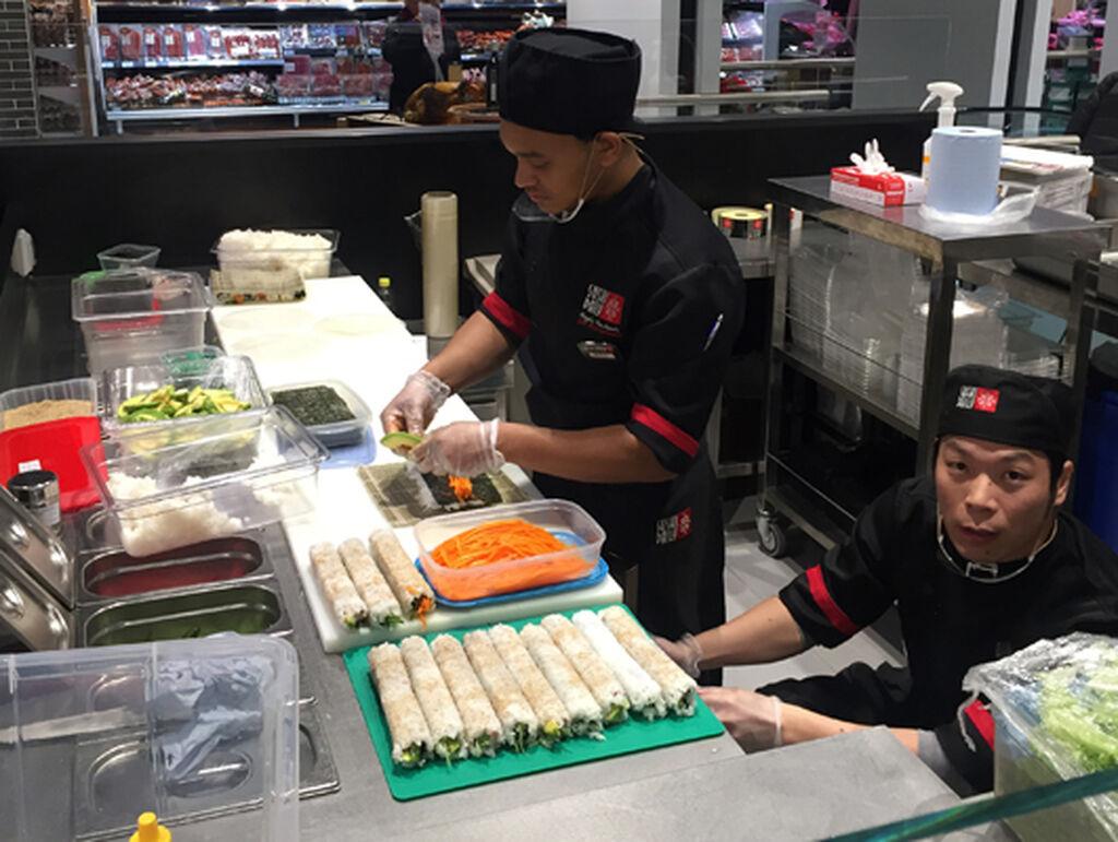 El sushi está de moda y no podía faltar en esta tienda