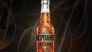 Una cerveza Desperados con un efecto visual mejorado