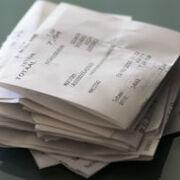 Los tiques de compra en los que se borra la tinta contienen sustancias cancerígenas