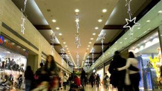 Diciembre: menos visitas a centros comerciales que en 2015