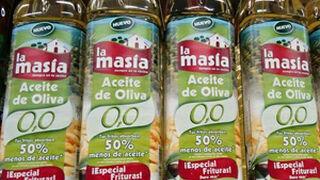 La Masía se ve obligada a rediseñar la etiqueta de su aceite 0,0