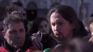 Pablo Iglesias invita a los españoles a no beber Coca-Cola