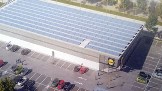 Lidl cien por cien sostenible for Oficinas lidl
