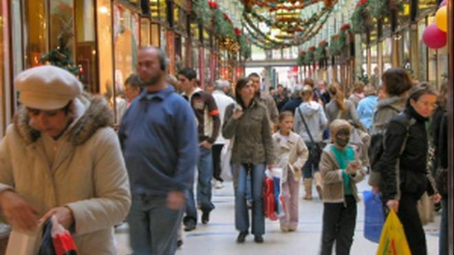 Los españoles gastaron algo menos de lo previsto en Navidad