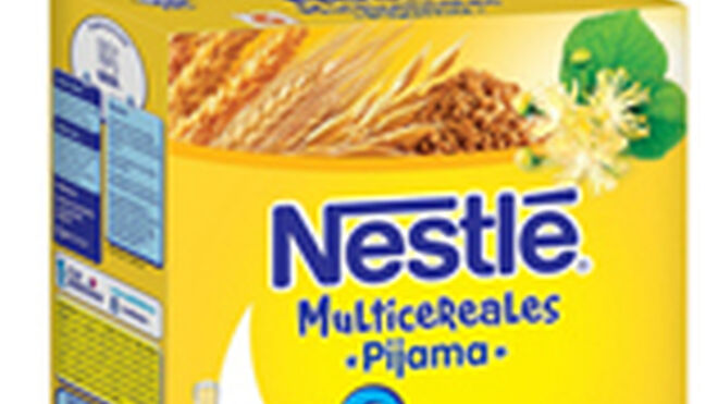 Nestlé presenta sus Multicereales Pijama para los bebés