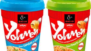 Pastas Gallo se apunta a la moda de los noodles con Yohmen