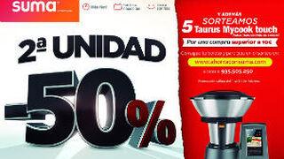 Suma ofrece descuentos del 50% en más de 200 productos
