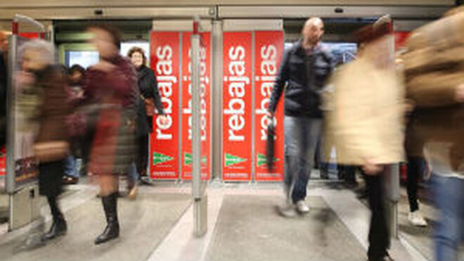 Las rebajas disparan las visitas a los centros comerciales
