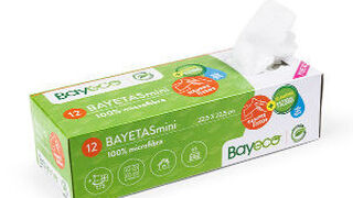 Bayeco lanza sus nuevas bayetas mini con dispensador