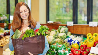Los frescos y los productos saludables mandan en las compras
