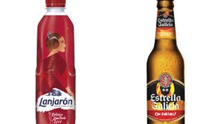 Lanjarón y Estrella Galicia se 'visten' para celebrar las Fallas