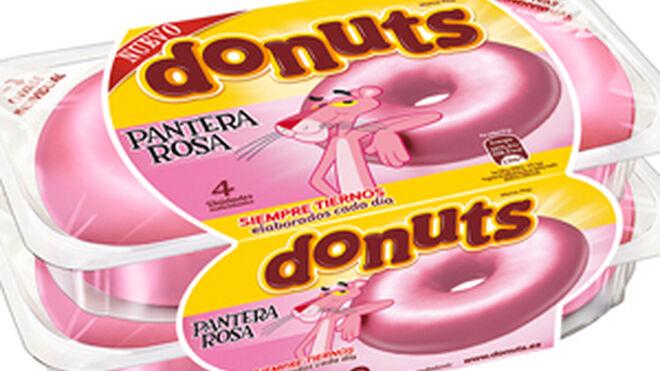 Fusión para la generación EGB: llegan los Donuts Pantera Rosa