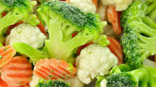 El sector de verduras congeladas logra sus mejores cifras en 10 años
