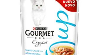 Pues sí... los gatos también pueden tomar una sopa...