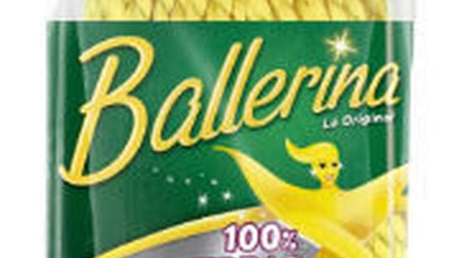 Ballerina ayuda a ganar tiempo con su fregona 100% microfibras