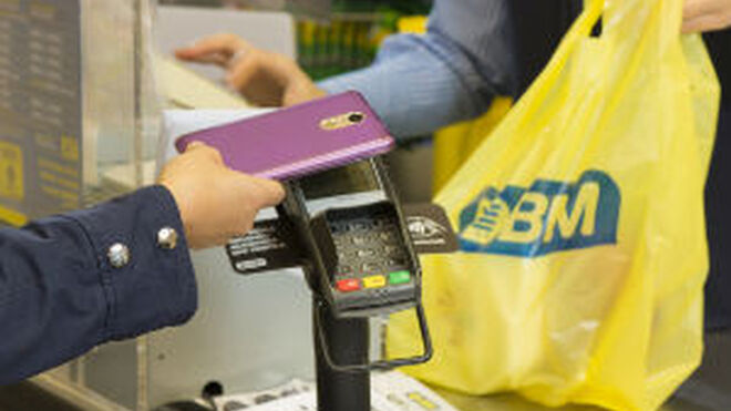 BM pone en marcha el pago con móvil sin contacto