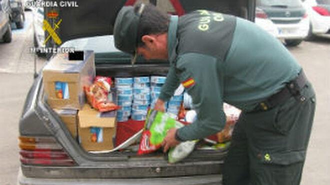 Inmovilizadas más de 18 toneladas de alimentos en Melilla