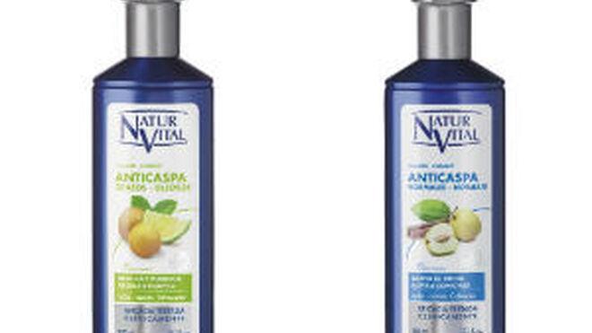 NaturVital lanza una nueva línea de champús anticaspa