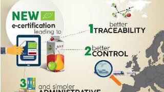 La UE estrena certificado electrónico para alimentos ecológicos