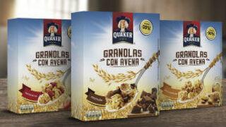 Quaker presenta en España sus cereales Granolas con Avena