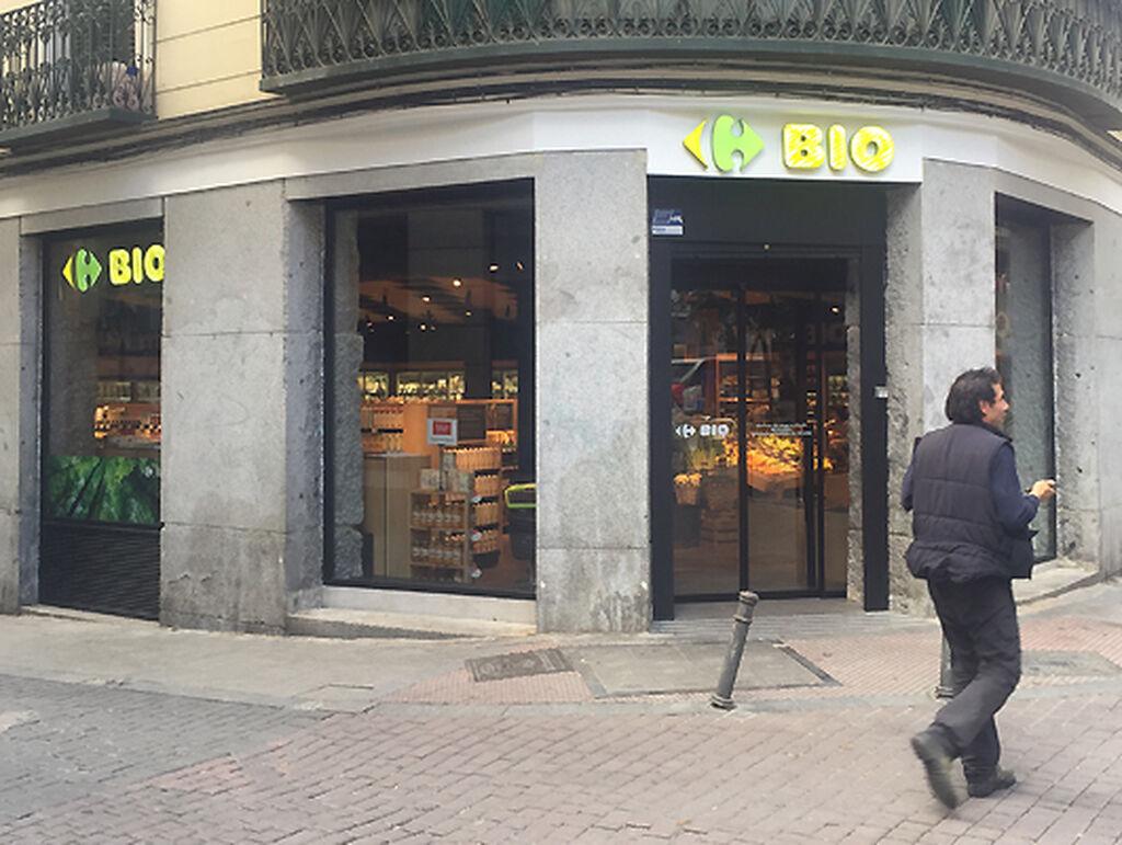 El primer Carrefour Bio de España está en la madrileña calle Velarde