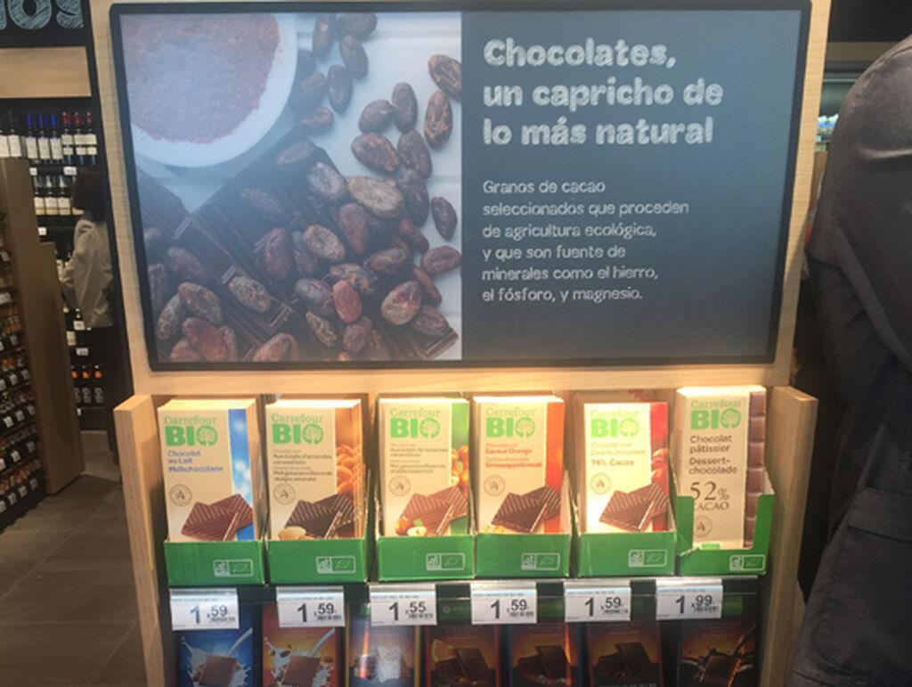 ¿Chocolate bio? Aquí lo tenéis