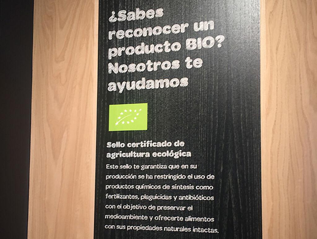 Comprar y formarse a la vez es posible en el Carrefour Bio
