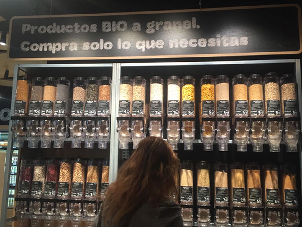 Se puede comprar a granel productos como quinoa, copos de avena o couscous