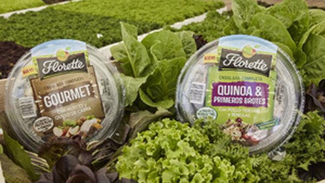 Florette sigue creciendo en referencias y en innovación