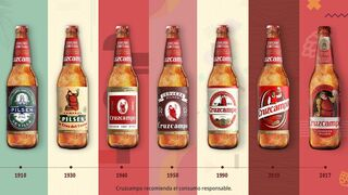 Cruzcampo lanza 120 millones de botellas 'con historia'