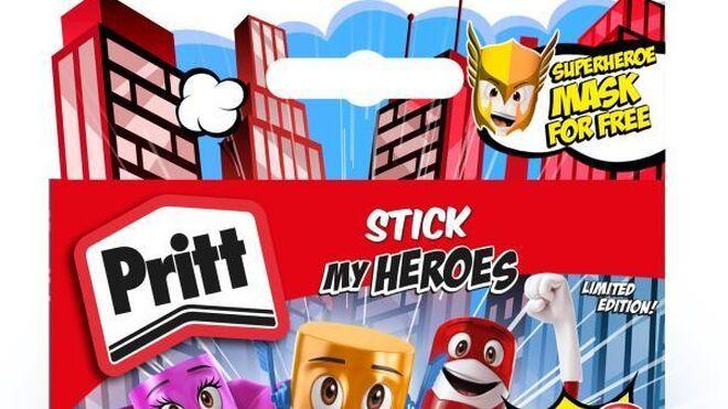 Llegan los superhéroes de Pritt
